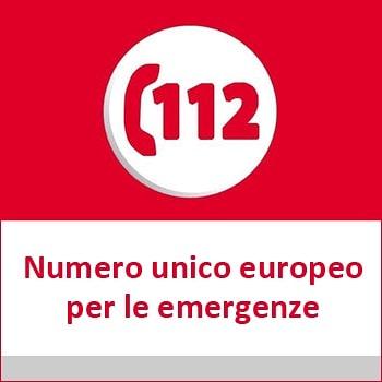 112 Numero Unico Emergenza Europeo