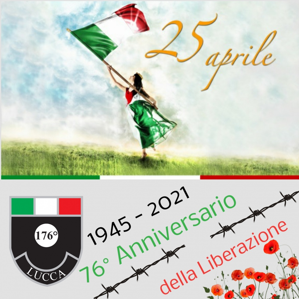 25 aprile 2021 - 76° anniversario della Liberazione