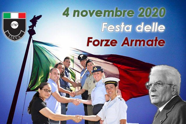 4 novembre: Festa Nazionale delle Forze Armate