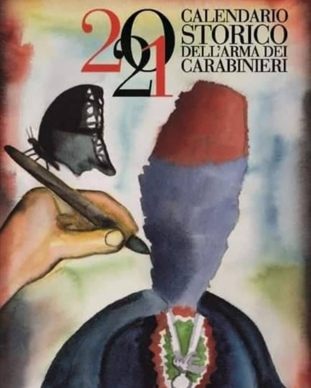 Calendario storico Carabinieri 2021
