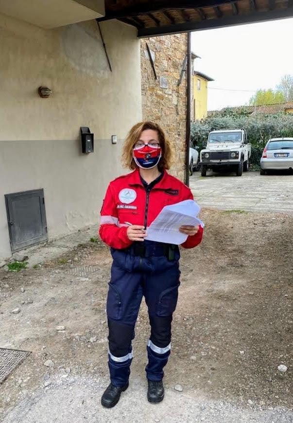 13 novembre 2020 - Capannori, distribuzione mascherine