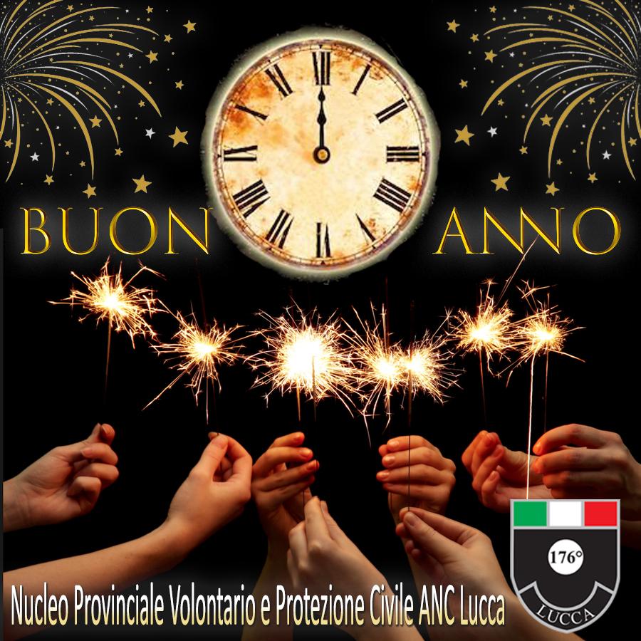 Buon 2021 dal Nucleo Provinciale Volontario e Protezione Civile ANC Lucca