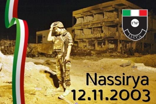 Onore ai caduti di Nassirya