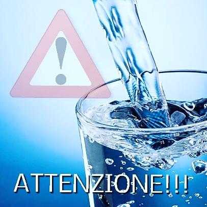Bollire l'acqua prima di berla nelle seguenti frazioni