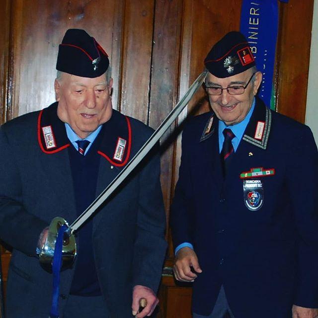 Rendiamo l'ultimo omaggio all'Appuntato Giuseppe Palagi: il più anziano dei carabinieri ancora in vita