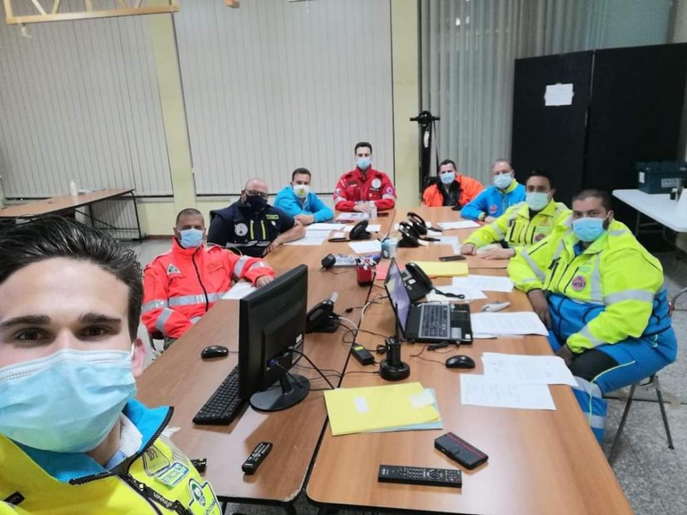 Il COC di Capannori affronta l'emergenza maltempo