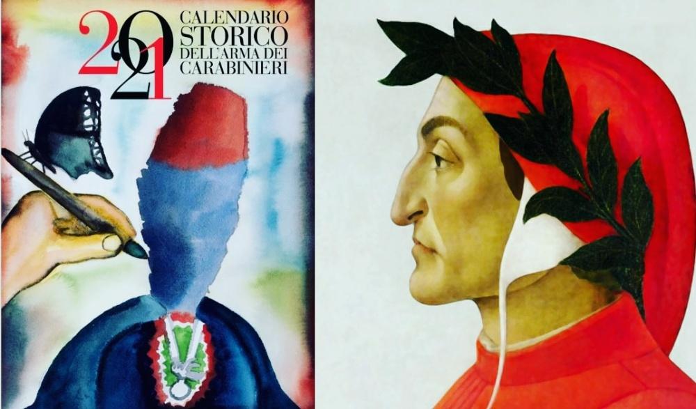 Calendario 2021 e Dante Alighieri