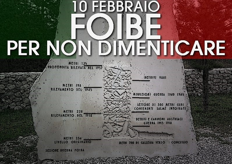 10 febbraio giornata della memoria delle foibe