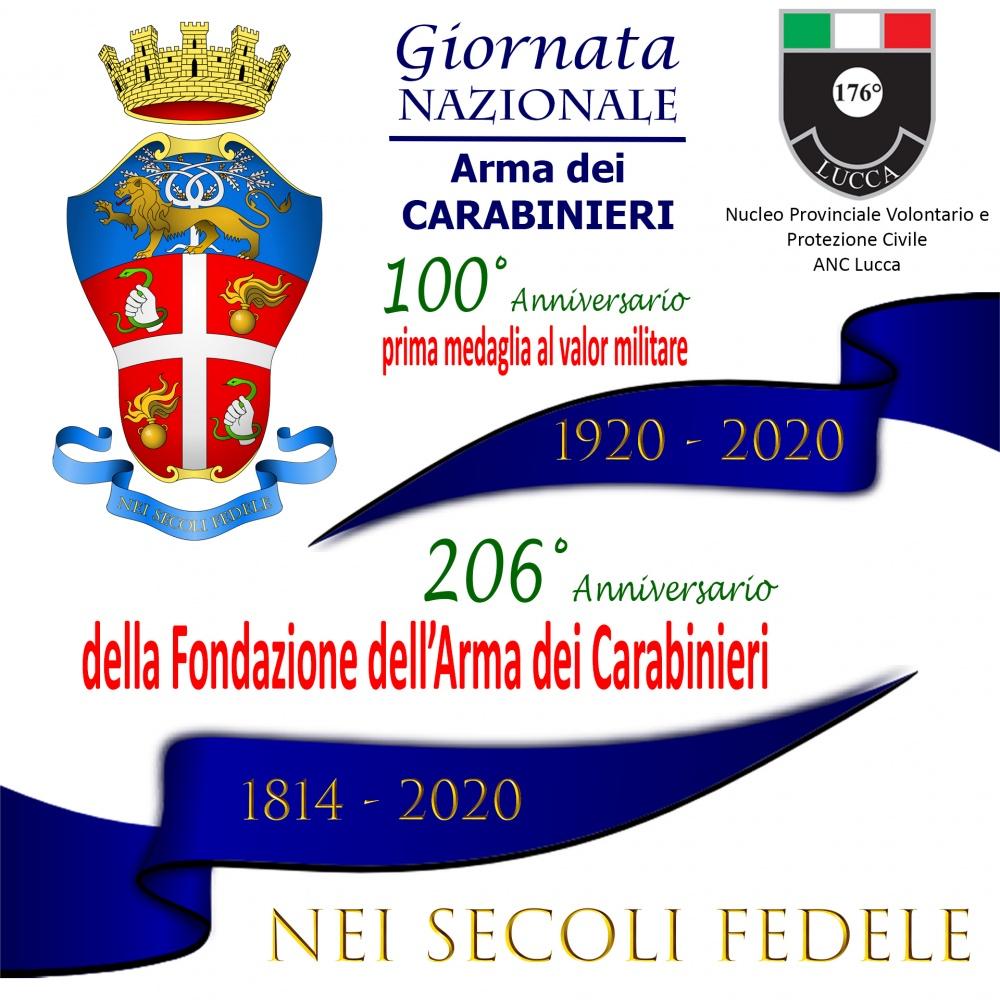 Giornata nazionale Arma dei Carabinieri 2020