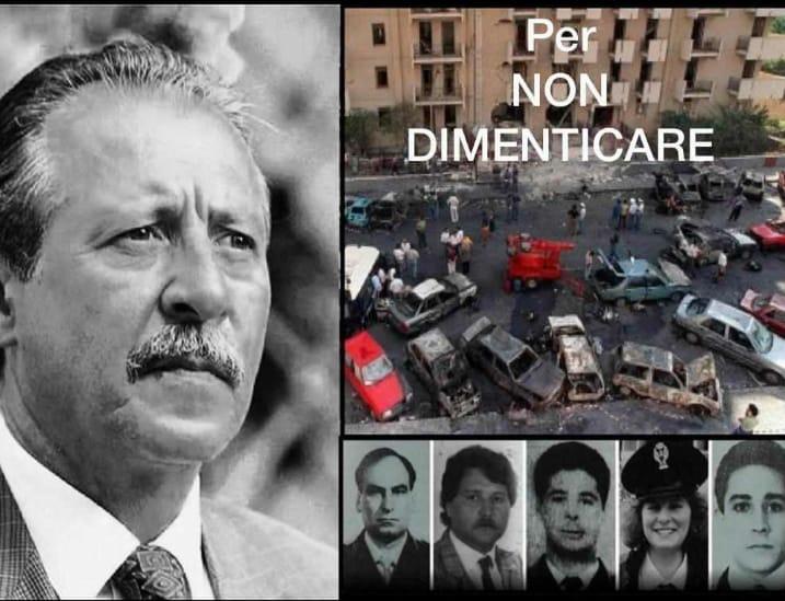 In memoria del Giudice Paolo Borsellino