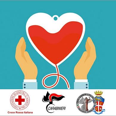 Collaborazione tra Carabinieri NAS e Croce Rossa Italiana per la donazione di sangue