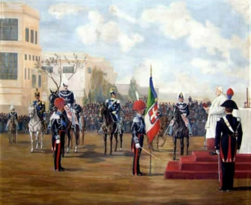 14 marzo 1894 - Bandiera di Guerra
