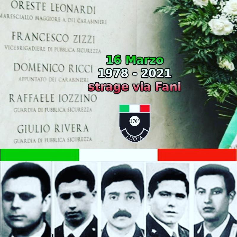 43 anni dalla strage di via Fani