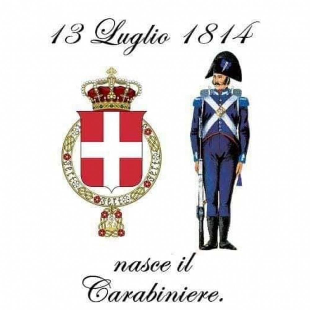Il 13 luglio 1814 nasceva l'Arma dei Carabinieri