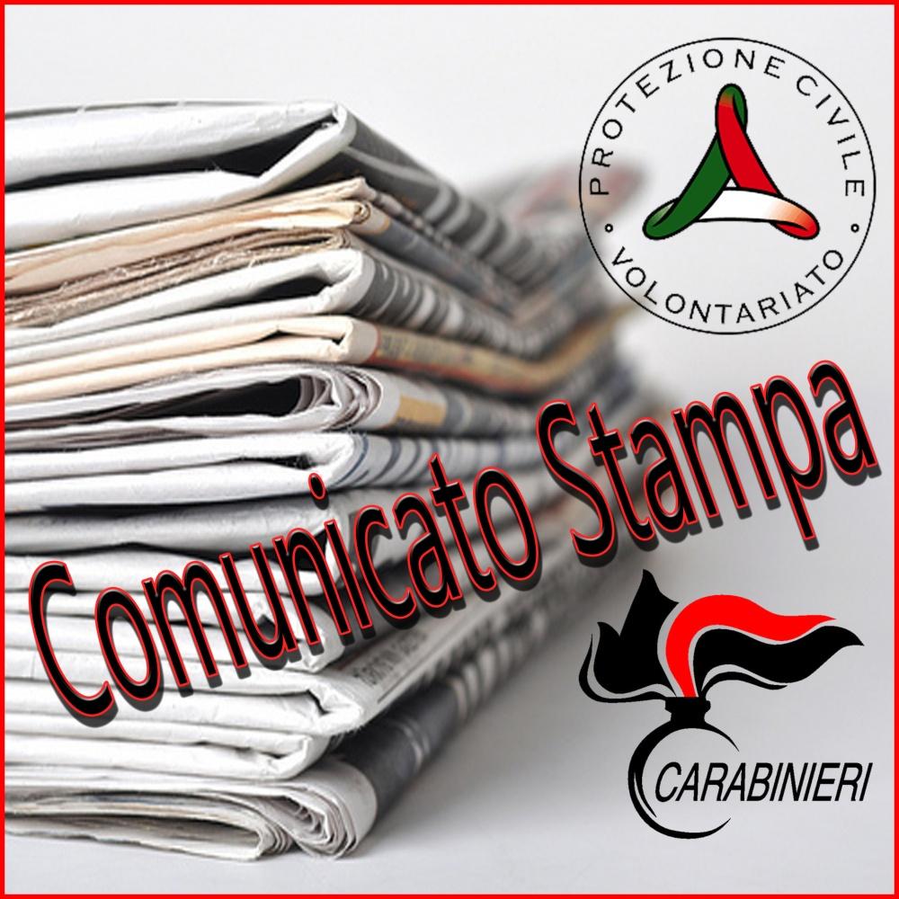 Comunicato Stampa: Intesa tra il Dipartimento della Protezione Civile e Arma dei Carabinieri
