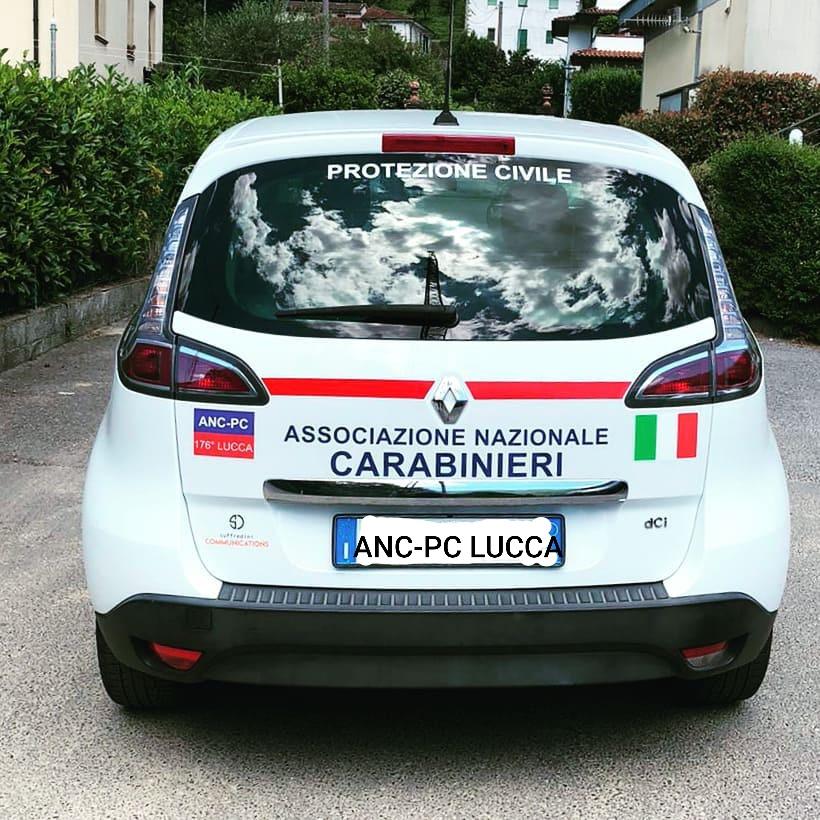 La livrea della nuova Renault Scenic ANC-PC LUCCA