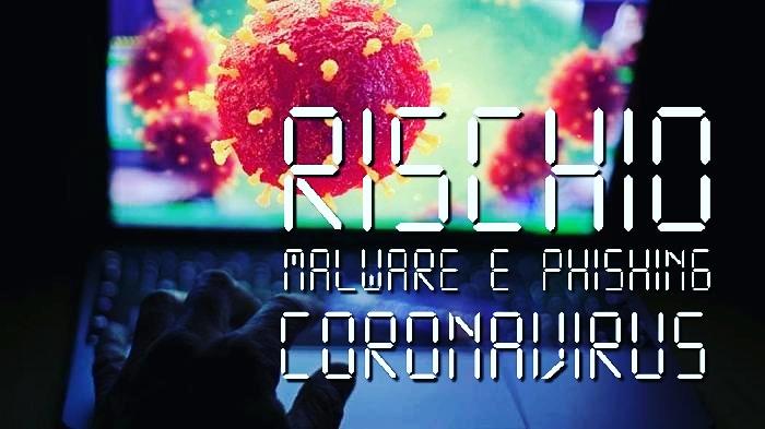 Rischio malware e phishing a tema coronavirus