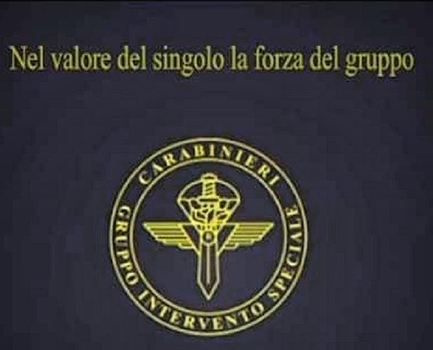 Motto e logo del Gruppo di Intervento Speciale dell'Arma dei Carabinieri