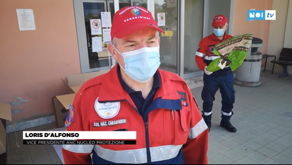 Servizio Noi.TV - consegna ospedali uova Caffarel - parla il Vice Presidente Loris D'Alfonso