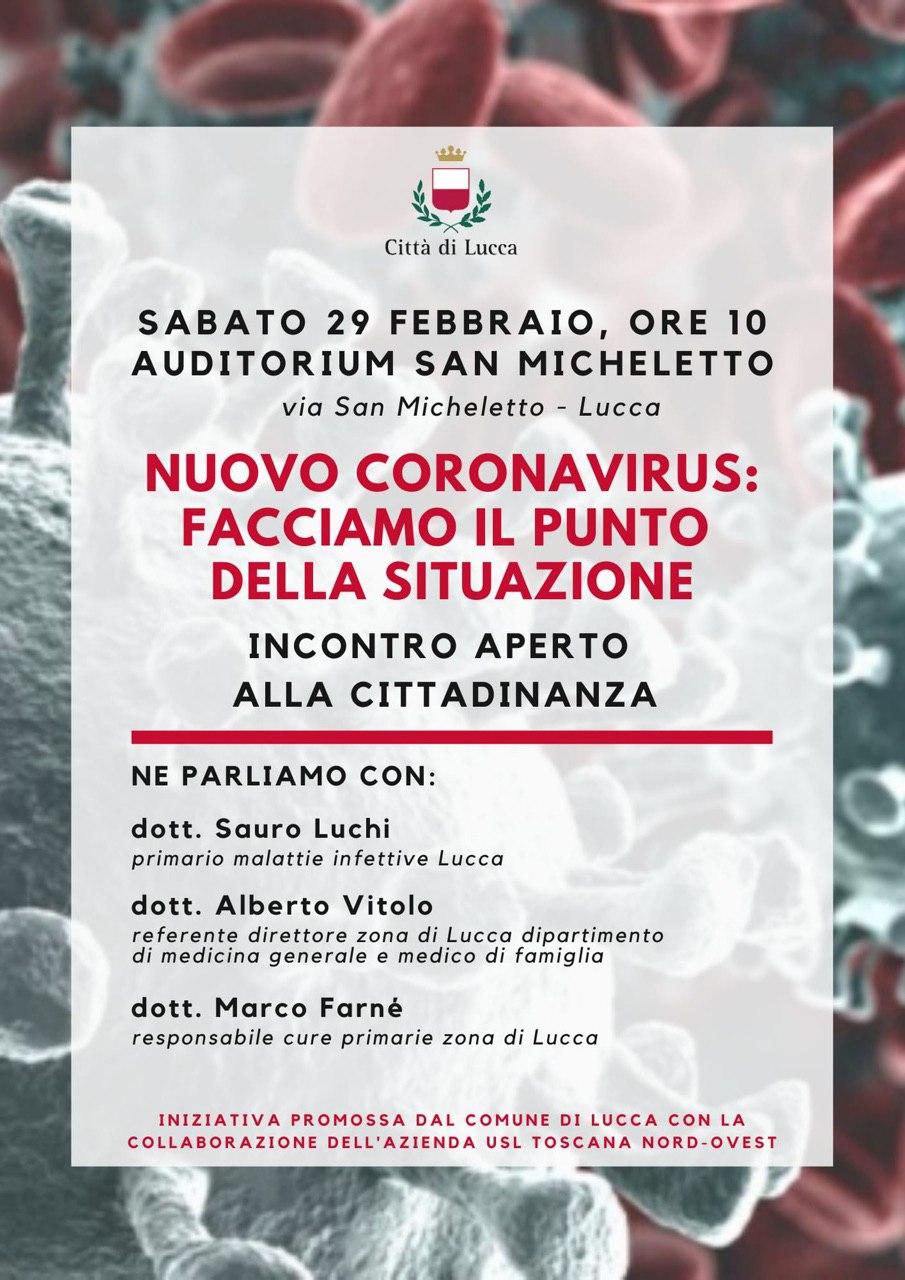 Nuovo Coronavirus: facciamo il punto della situazione.