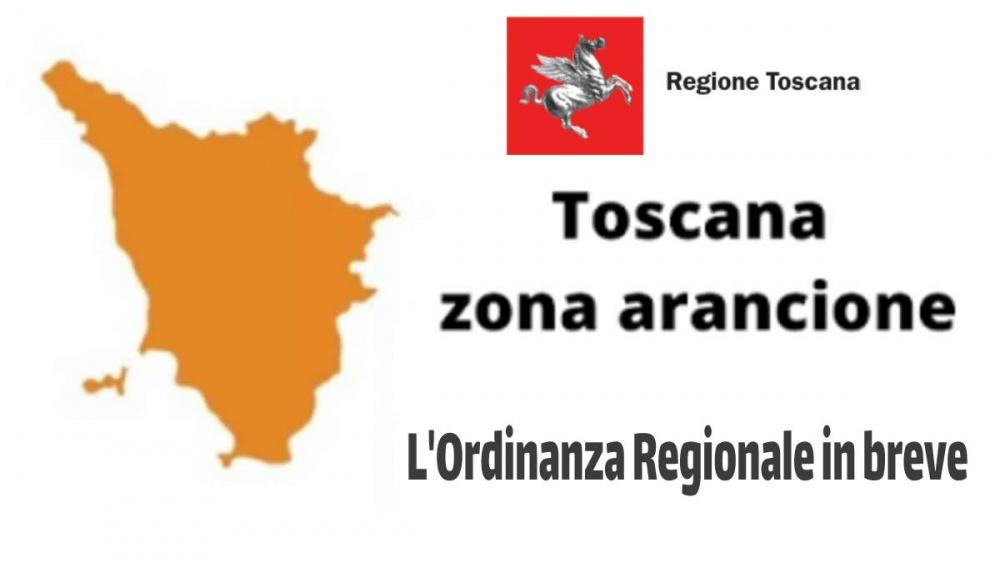 Le regole della Zona Arancione in Toscana