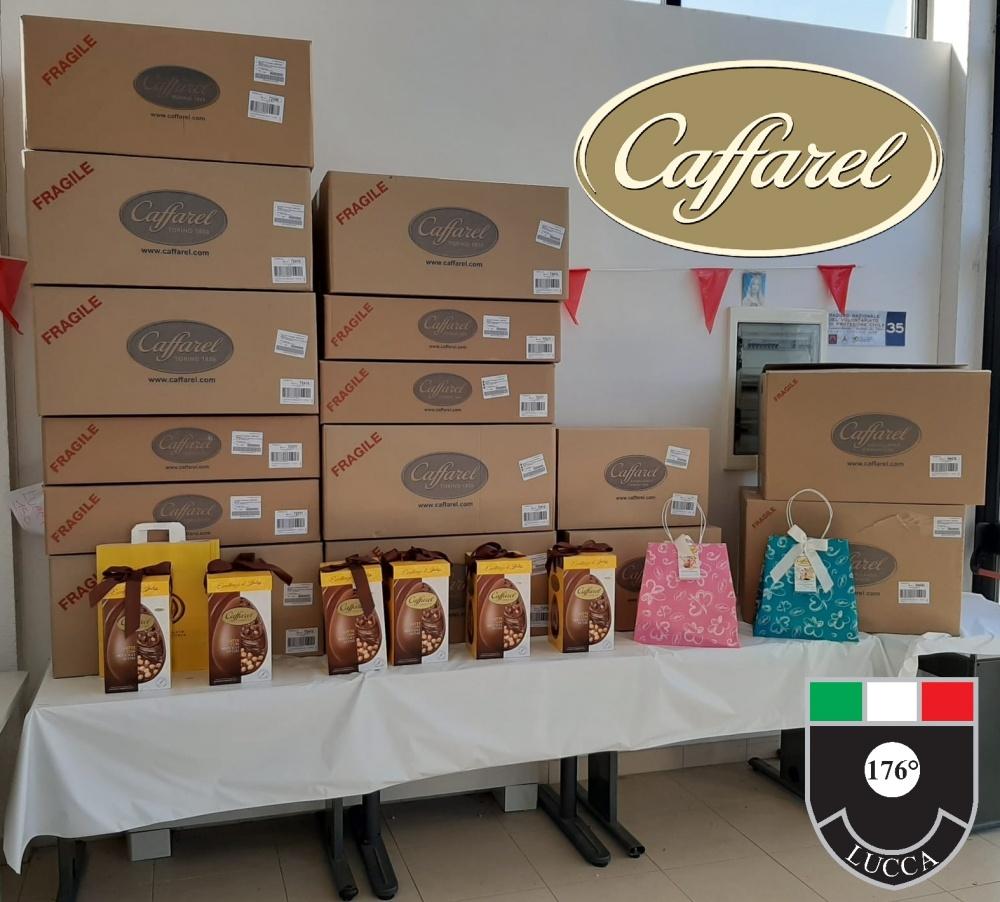 La Caffarel regala uova pasquali agli ospedali di Lucca